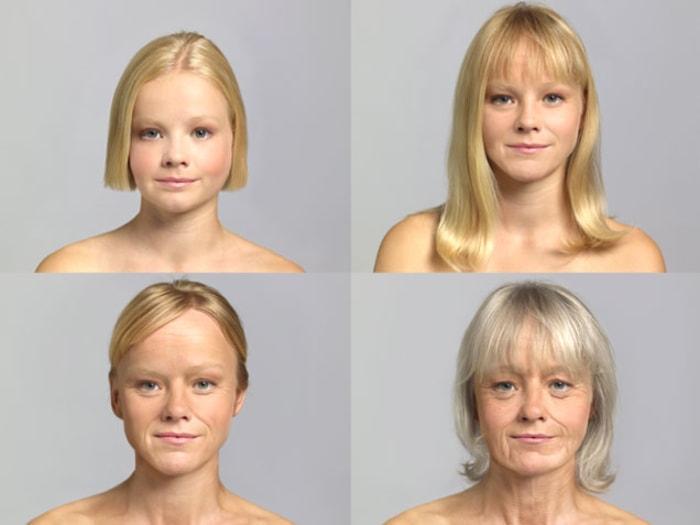 average number hairstyles women lifetime