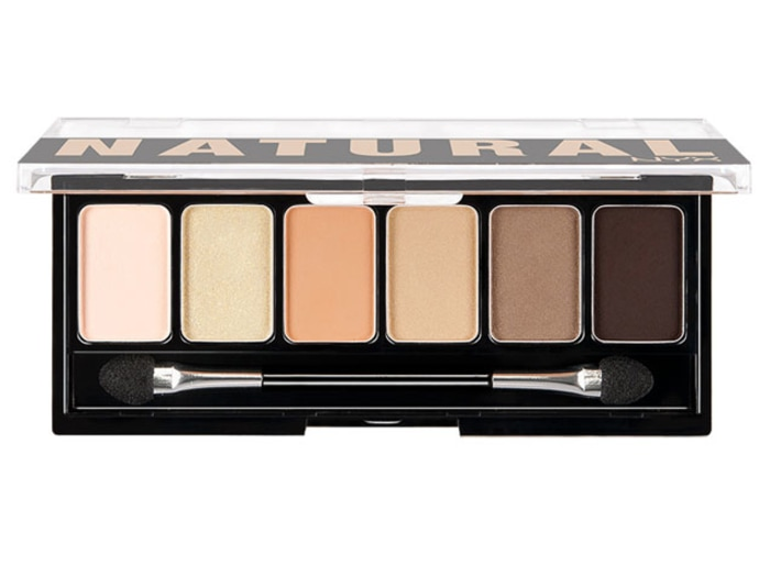 Natural palette eyeshadow