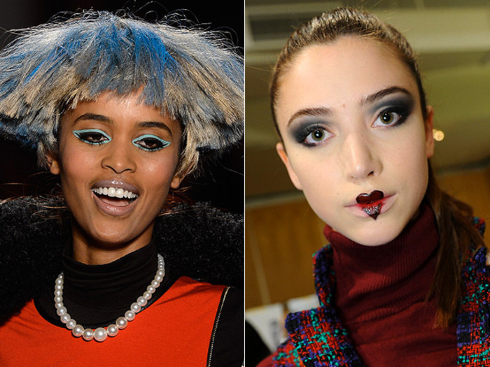 Fashion Week Beauty: Crazy, Ridiculous Hair & Makeup