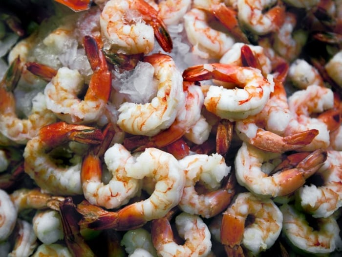 avoid imported shrimp during government shutdown