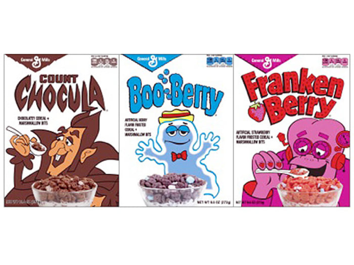 Chocula, Frankenberry, and BooBerry are back!