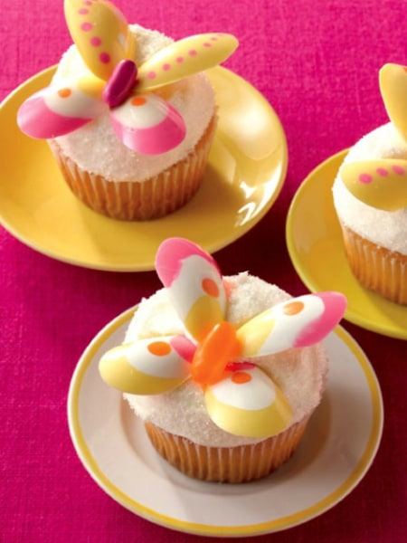 Easter Cupcakes Butterfly Cupcakes