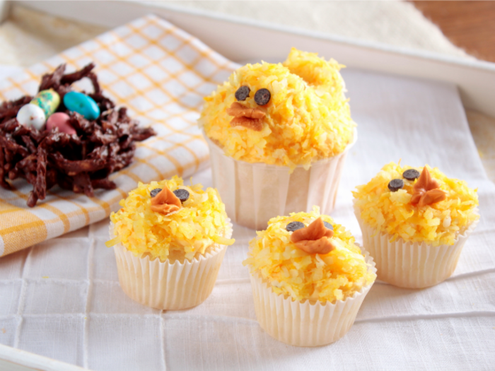 Easter Cupcakes Chick Cupcakes