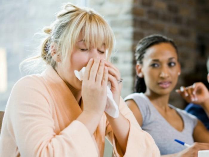 Sneezing at Work