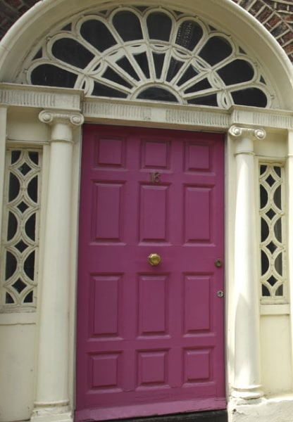 Colorful Front Doors Magenta Pink Door