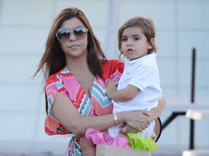 Kourtney Kardashian Hit with Paternity, Custody Lawsuits