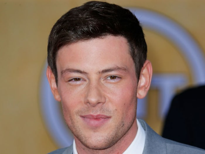 Cory Monteith Glee Death