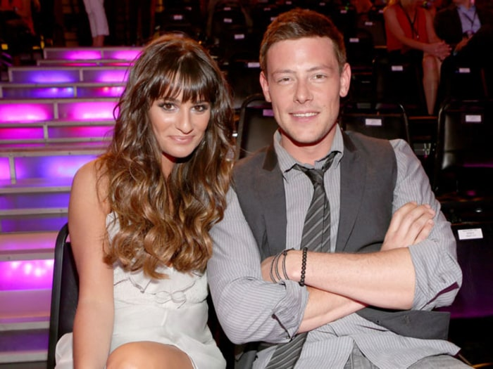 Lea Michele Mourning with Cory Monteith's Family After Actor's Death