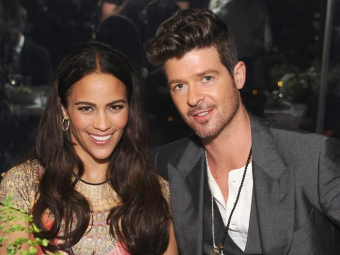 Robin Thicke Daughter Robin Thicke Thinks On...
