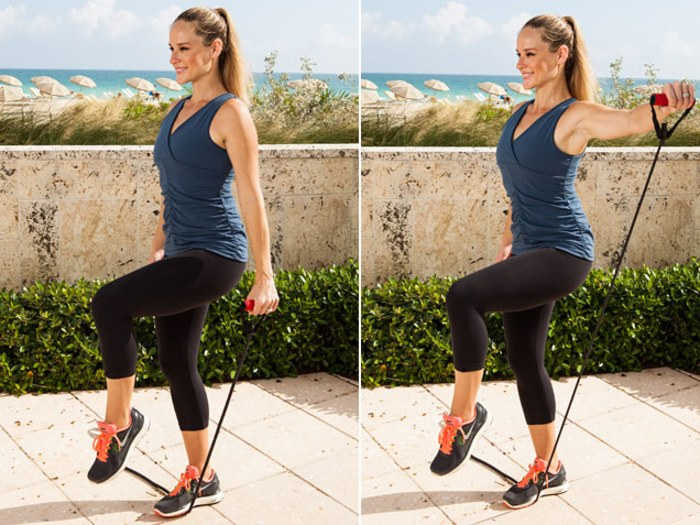 Single-Leg Stance Lateral Raise