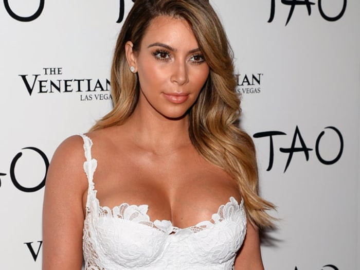 Kim Kardashian Talks About Pregnancy Weight Gain