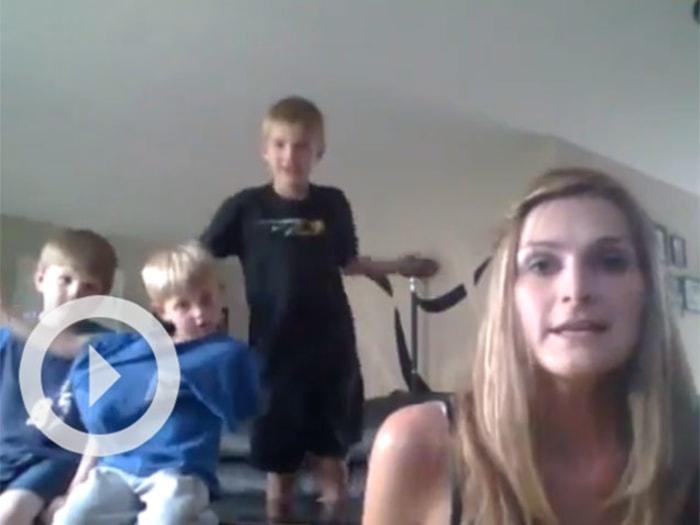 Viral Video: Mom of Boys Katie Crank Sings