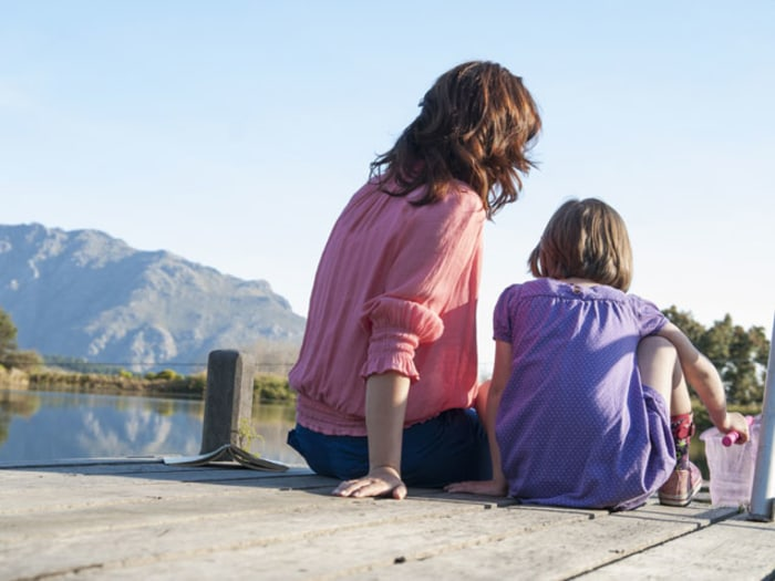 Mom and Daughter - Offering Less Advice Can Boost Girls' Confidence