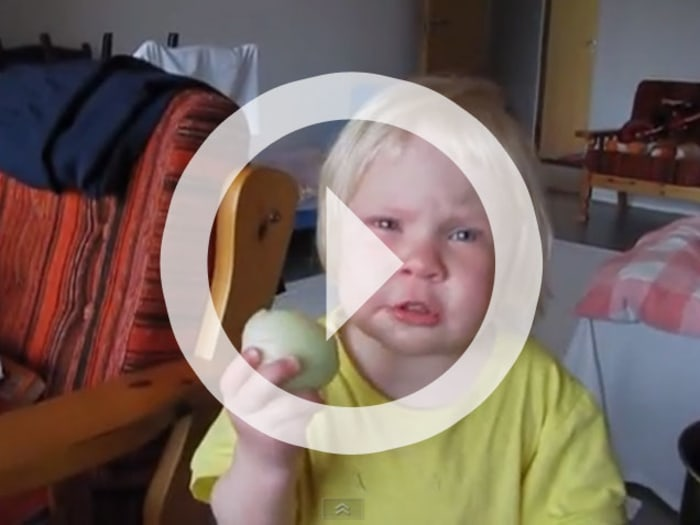 Viral Video: Child Eating an Onion - TODAY.com
