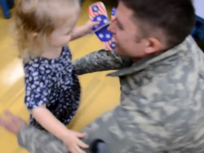 Best Military Homecoming Video