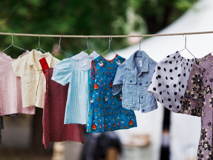 what to do with kids old clothes