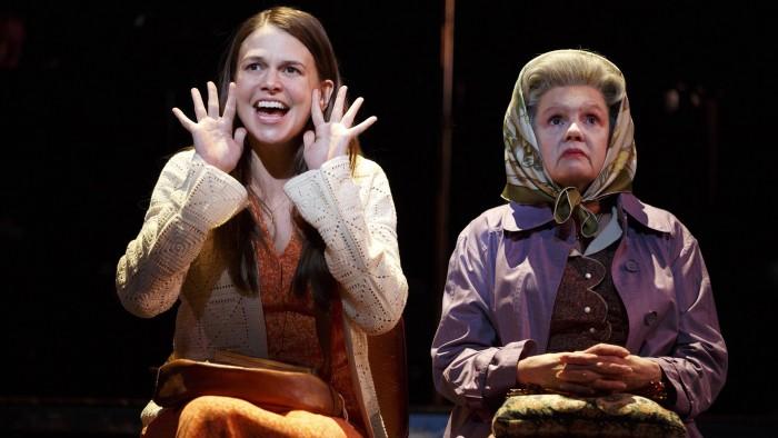 """Sutton Foster (l.) and Annie Golden in """"Violet."""""""
