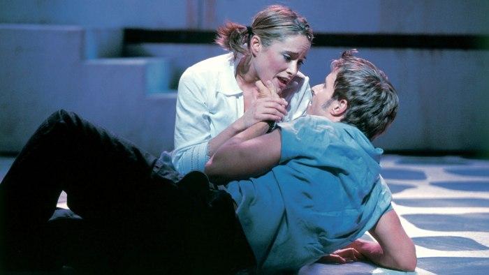 "Tina Maddigan and Joe Machota starred in the original cast production of ""Mamma Mia!"""