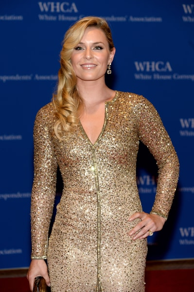 WASHINGTON, DC - MAY 03:  Olympic Skier Lindsey Vonn attends the 100th Annual White House Correspondents' Association Dinner at the Washington Hilton ...