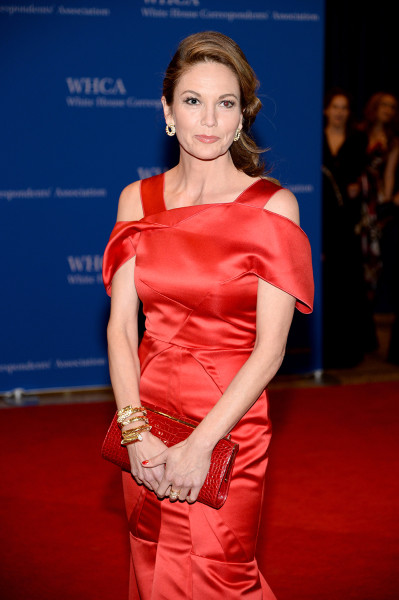 WASHINGTON, DC - MAY 03:  Actress Diane Lane attends the 100th Annual White House Correspondents' Association Dinner at the Washington Hilton on May 3...