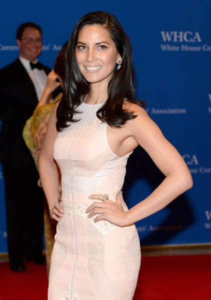 WASHINGTON, DC - MAY 03:  Olivia Munn attends the 100th Annual White House Correspondents' Association Dinner at the Washington Hilton on May 3, 2014 ...