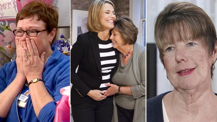 Linda Mochel; Savannah Guthrie, Nancy Guthrie; Connie Morgan
