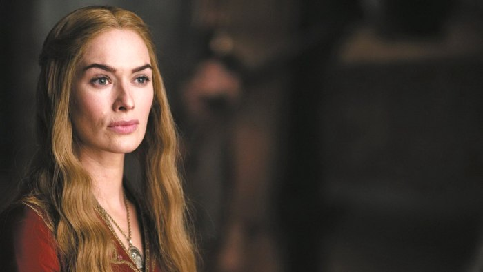 Image: Lena Headey as Cersei Lannister on 'Game of Thrones'
