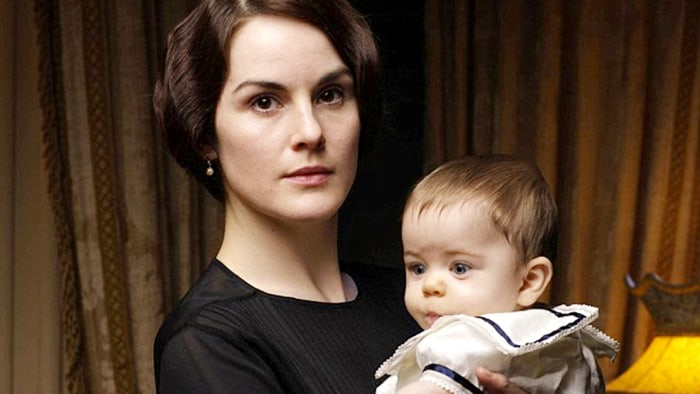 Image: Michelle Dockery as Mary Crawley on 'Downton Abbey'