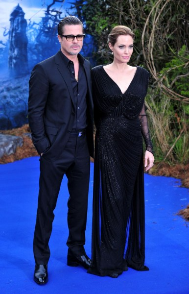 Image: Angelina Jolie and Brad Pitt