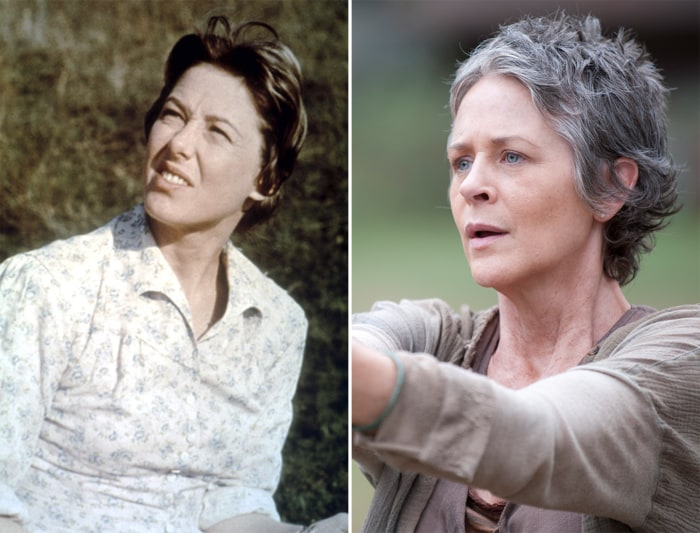 IMAGE: Little House on the Prairie, The Walking Dead