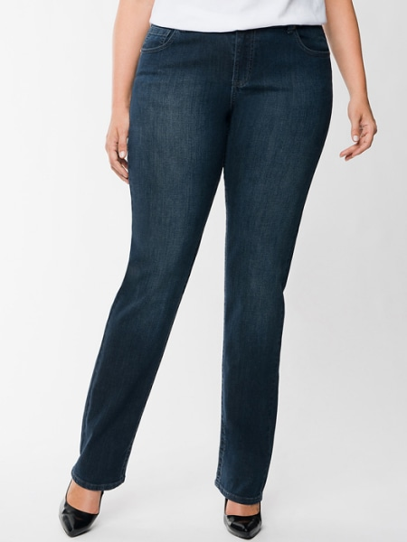 Lane Bryant straight leg jean