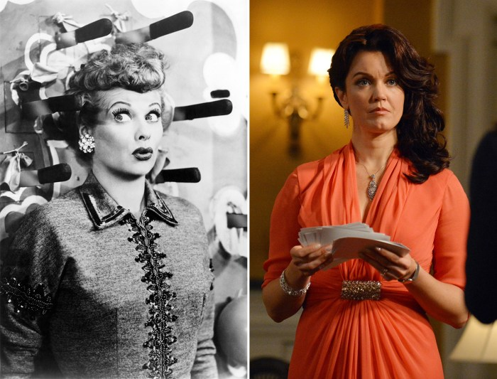 IMAGE: Lucille Ball, Bellamy Young
