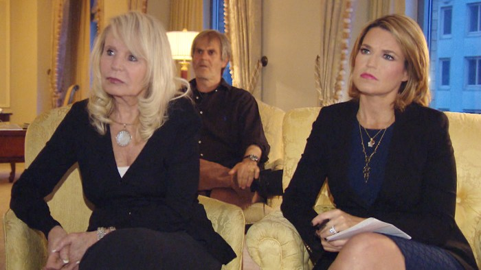 Shelly Sterling and Savannah Guthrie sat down together to watch Donald Sterling's interview Monday night.