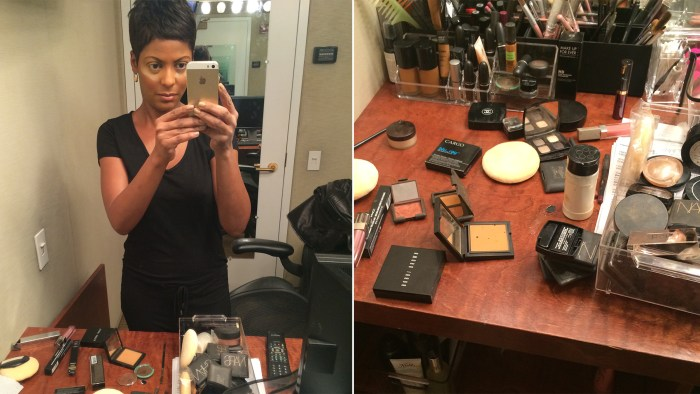 Thirty minutes or less: The Tamron Hall Makeup Rule.