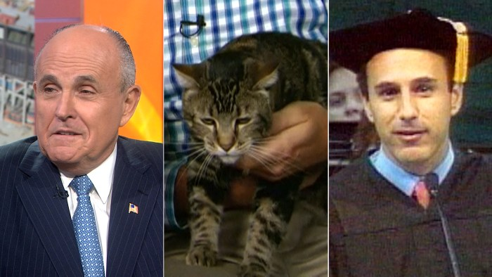 "Rudy Giuliani calls 9/11 Museum ""profound,"" Tara the cat is a hero and Matt's graduation pics get (intentionally) leaked for Throwback Thursday."