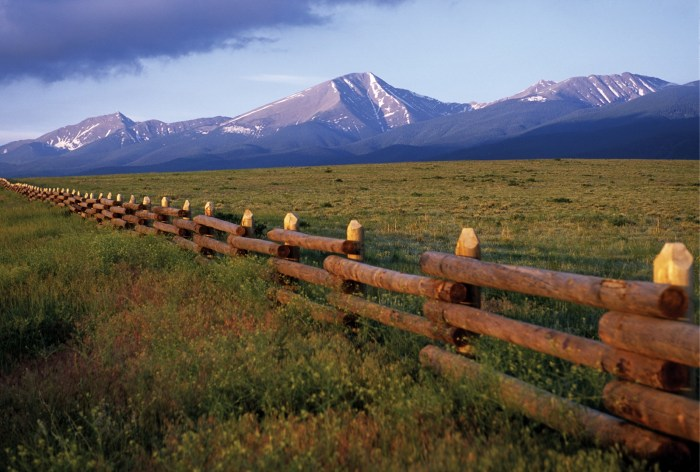 Winning bidders can own a piece of a working ranch in Colorado and be as involved as they want at the Maytag Mountain Ranch.