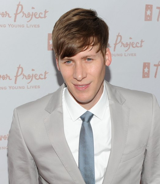 Dustin Lance Black attends the 10th Annual Trevor New York Summer Gala on June 28, 2010 in New York City.  (Photo by Jason Kempin...