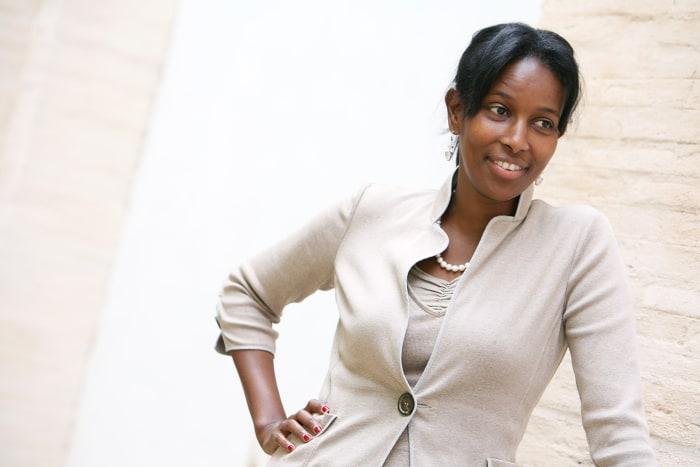Somalian author Ayaan Hirsi Ali