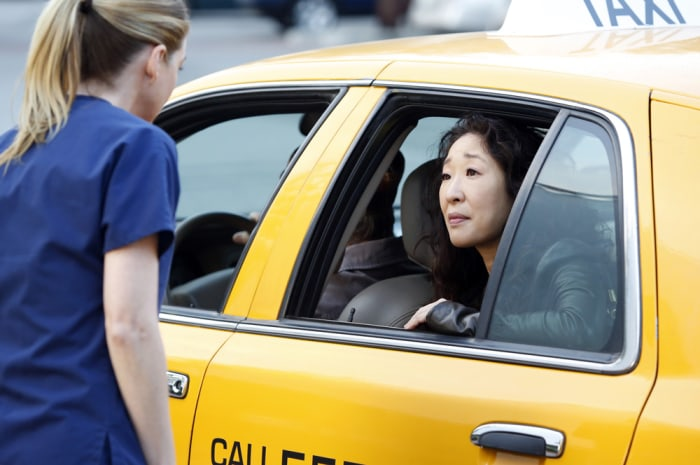 "Image: Meredith and Cristina on ""Grey's Anatomy."""