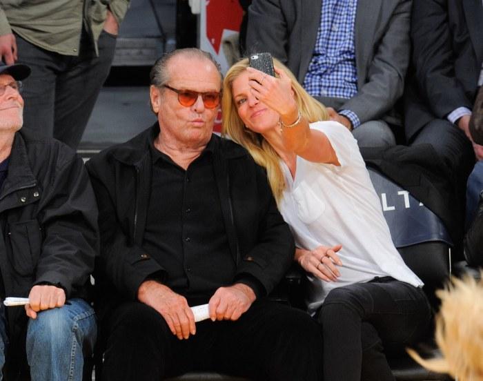 Jack Nicholson shatter...