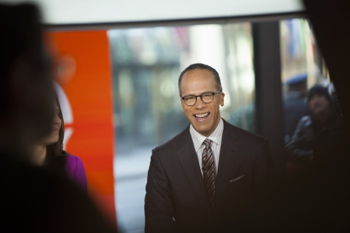 Lester Holt on the TODAY show on March 6, 2014.