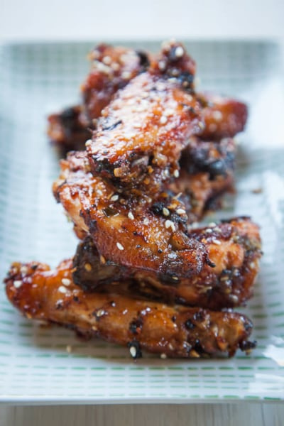 Korean BBQ chicken wings
