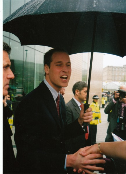 Edwards snapped this picture of Prince William.