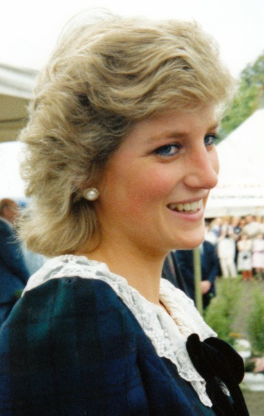 Princess Diana was one of Edwards' favorite subjects.