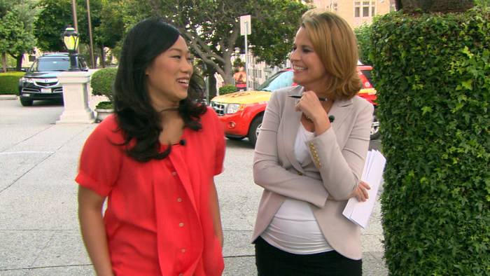Priscilla Chan and Savannah Guthrie