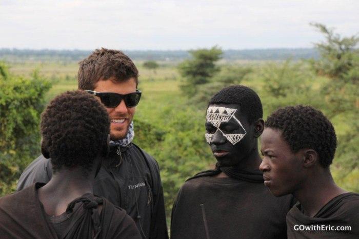 IMAGE: Eric Hill in Tanzania.