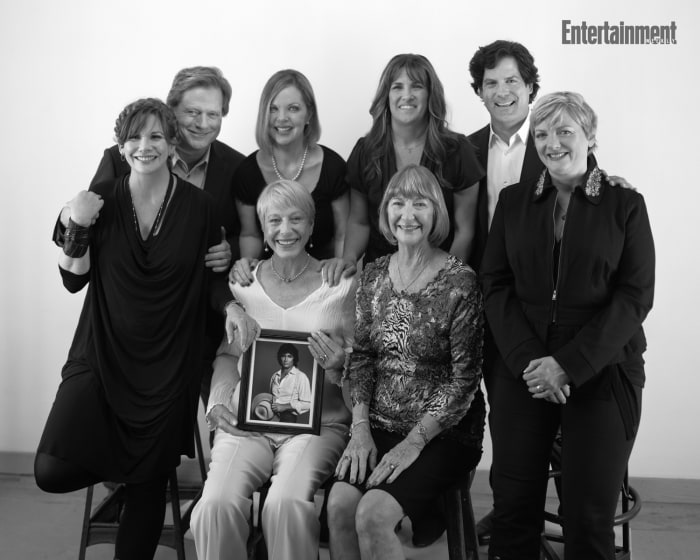 "Little House on the Prairie,"" from left, top row, Dean Butler, Melissa ..."