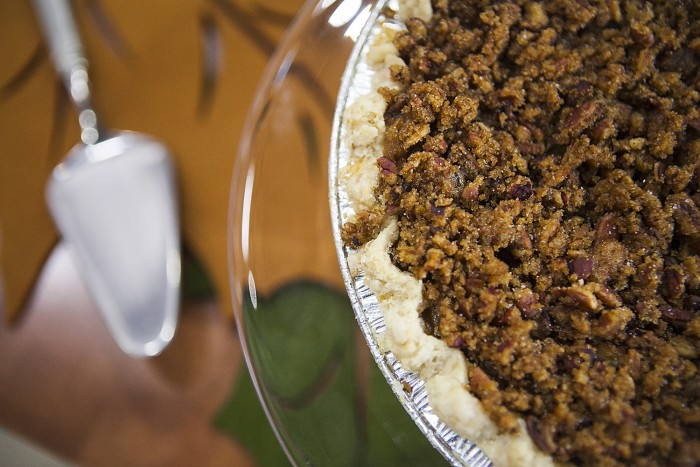 Start baking Thanksgiving pies early! Make Magnolia's pumpkin praline, apple and more