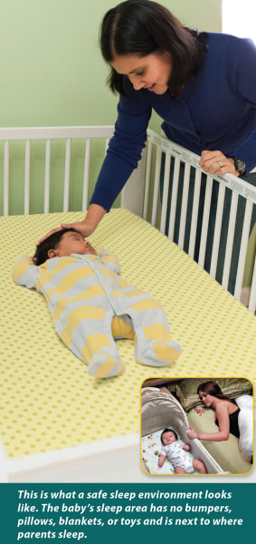 Danger In The Crib More Than Half Of U S Babies Sleep In