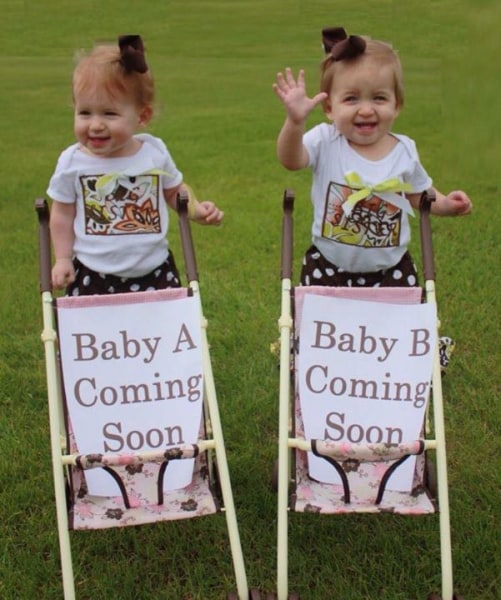 Double The Fun Creative Ways To Announce You Re Having